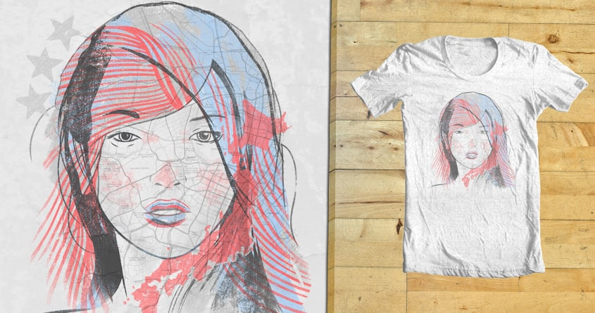Different Faces by Ellsswhere on Threadless
