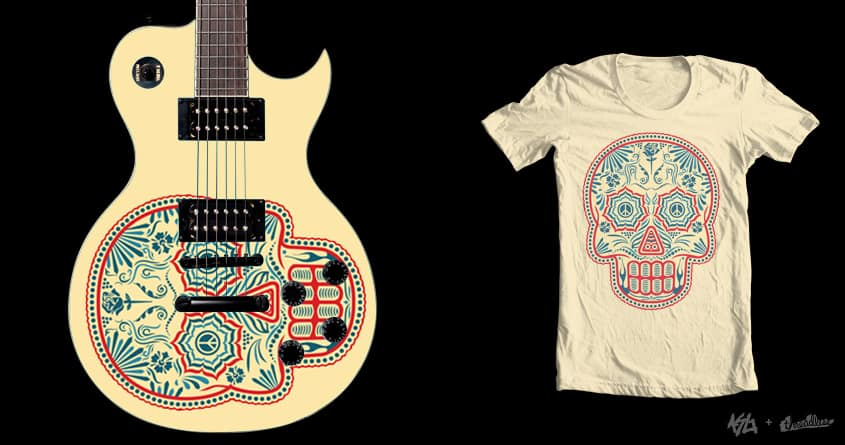 Sugar Skull by jon.hernandez on Threadless