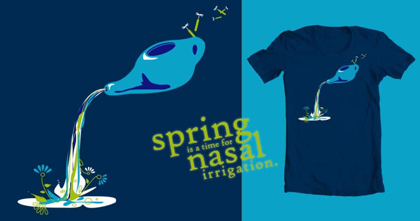 Spring is a time for... by mrsgreybeard on Threadless