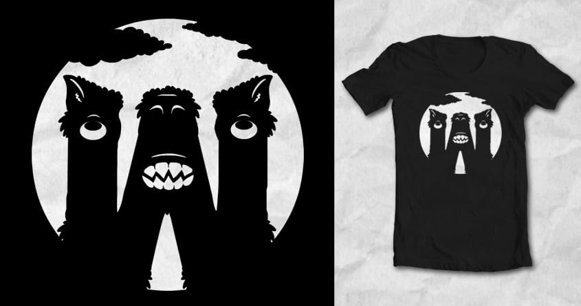 W is for Werewolf by SteveOramA on Threadless