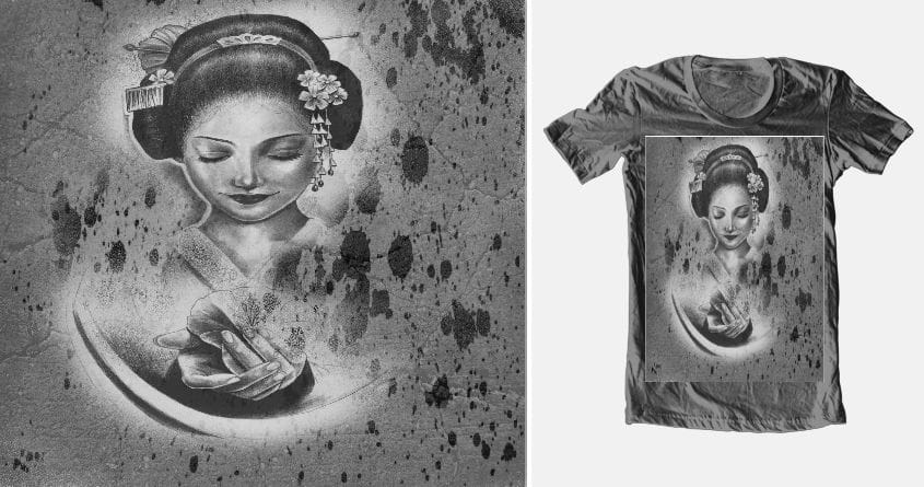 geisha by T.Grant on Threadless