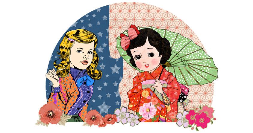 Nostalgic Girls by n.icecream on Threadless