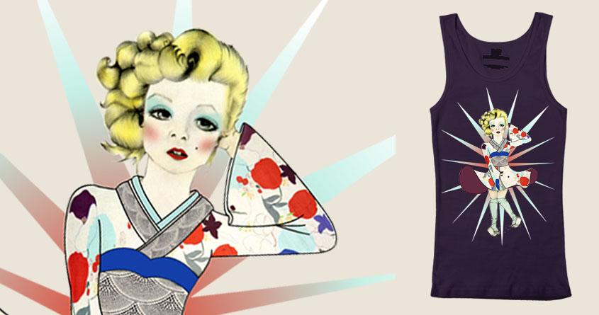 Geisha Monroe by Rosafefa on Threadless