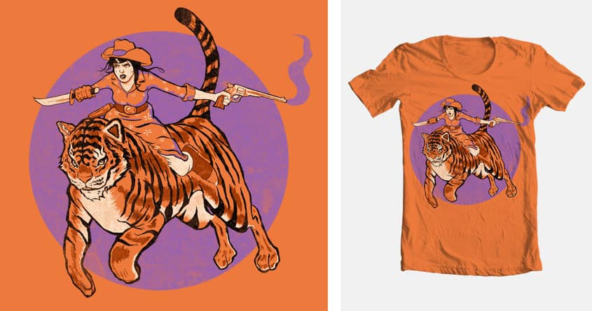 Tigre' by Grr8t on Threadless