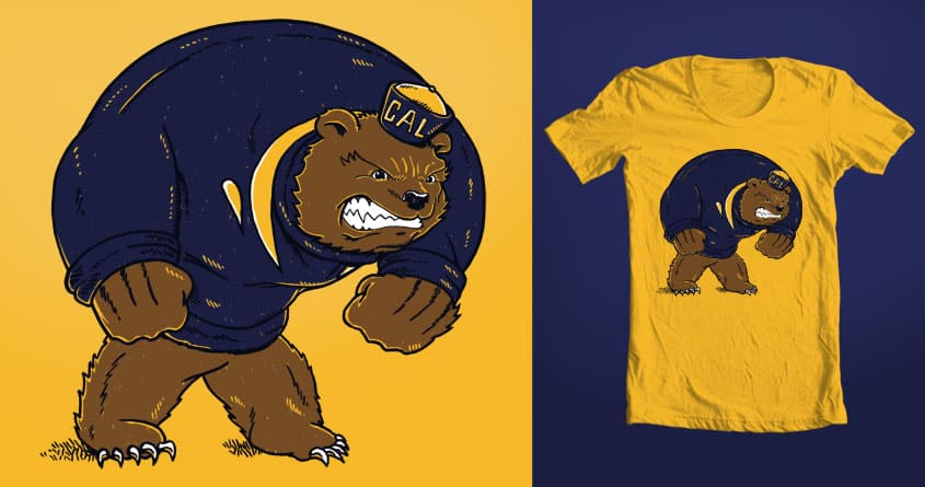 Oski by nickv47 on Threadless