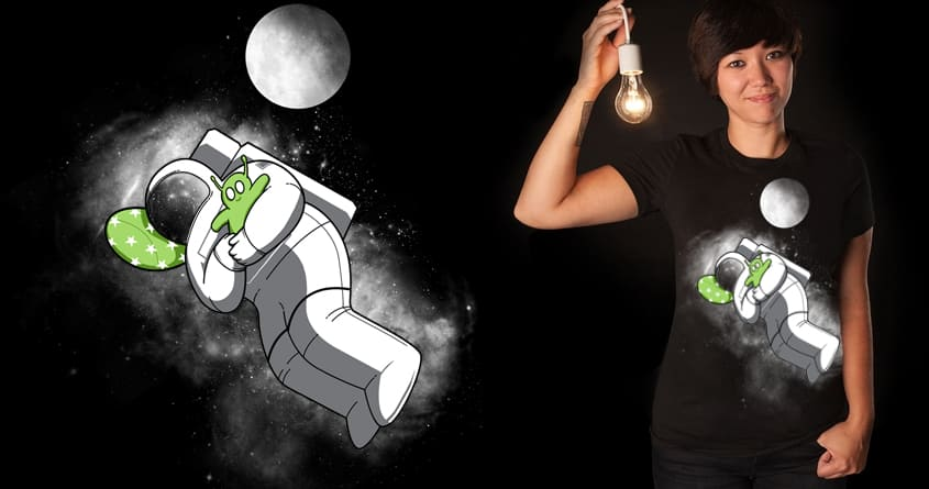 Space Sleep by Pigboom on Threadless