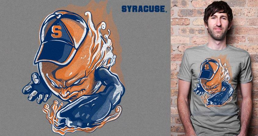 Go Syracuse!!! by rhobdesigns and lady_ice on Threadless