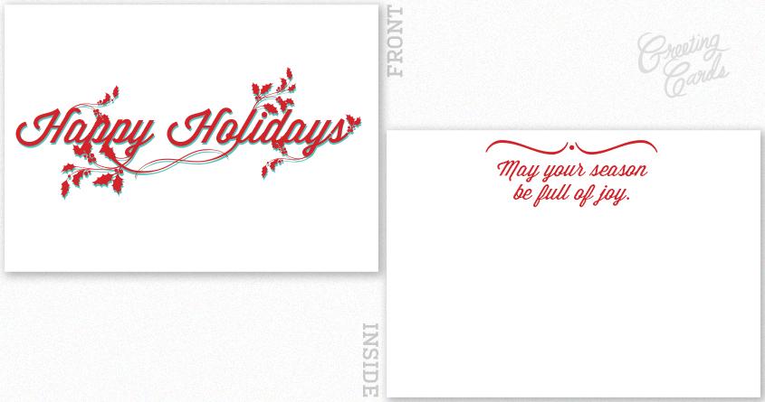 Happy Holidays by AlanReynolds on Threadless