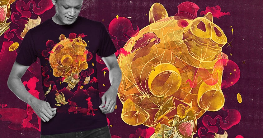 Piggy BOOM!!! by choppre on Threadless