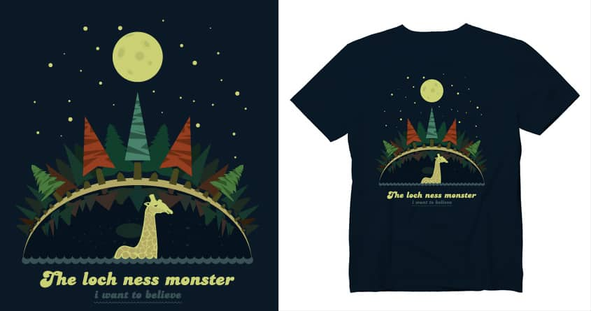 I want to believe by juozasv on Threadless