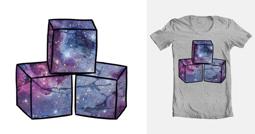 Quantum Building Blocks by Keegan Clark on Threadless