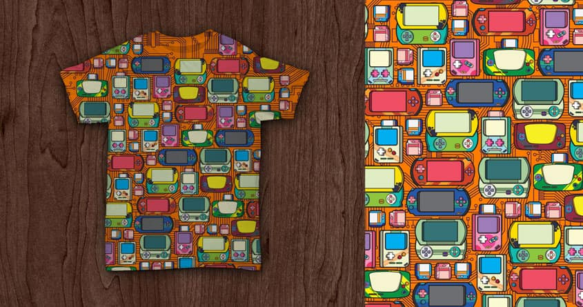 Vintage Gadget Pattern by nuqz on Threadless