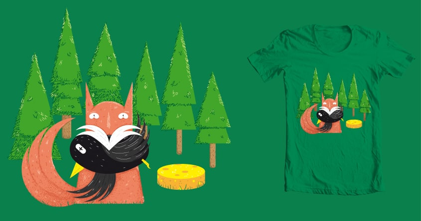 The Fox and the Crow by theodesimpel on Threadless