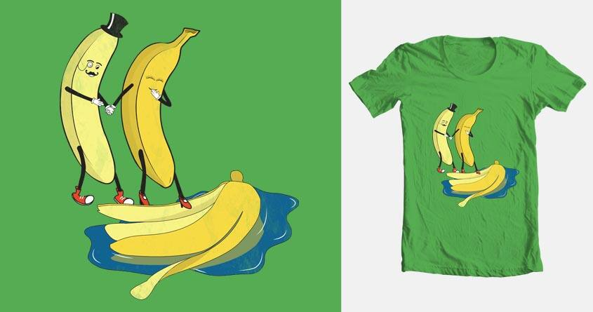 Banana Gentleman by HristoDonev on Threadless