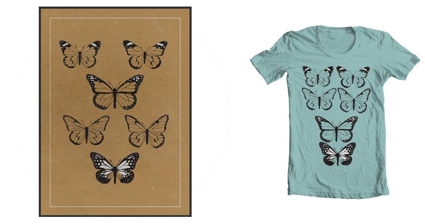 Butterflies by tishina on Threadless