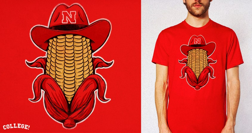 Huskers by alexmdc on Threadless