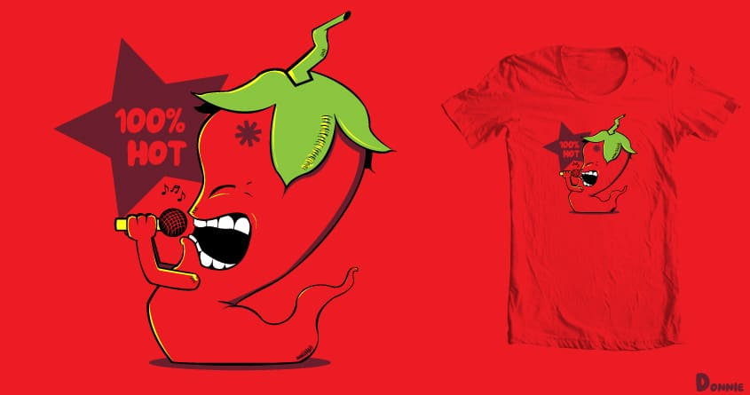Red Chili Pepper by DonnieArt on Threadless