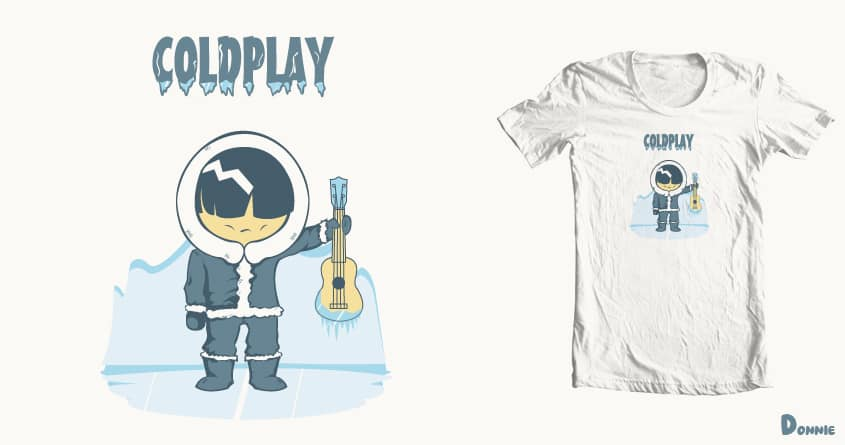 Coldplay by DonnieArt on Threadless