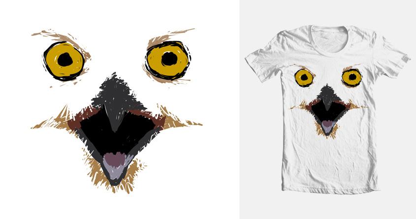 Night of Owl by ScarlettSpider Shadow on Threadless