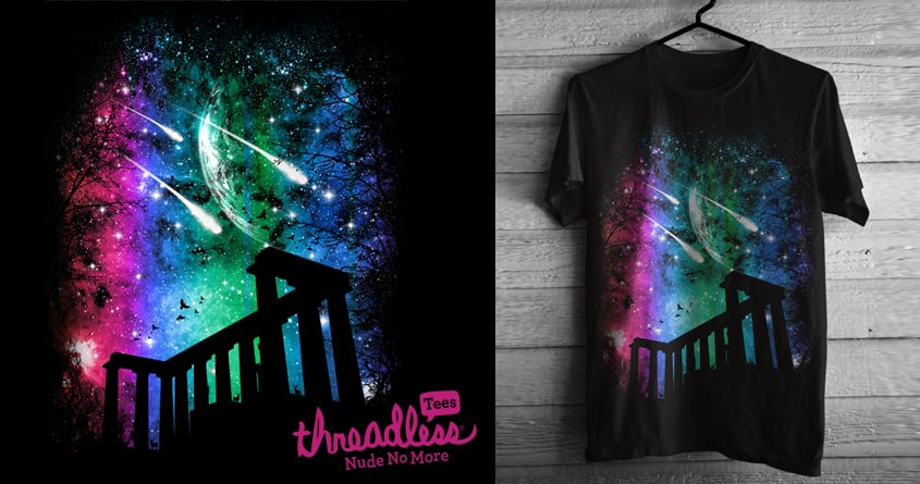 A Meteor Night by chingmoncheng on Threadless