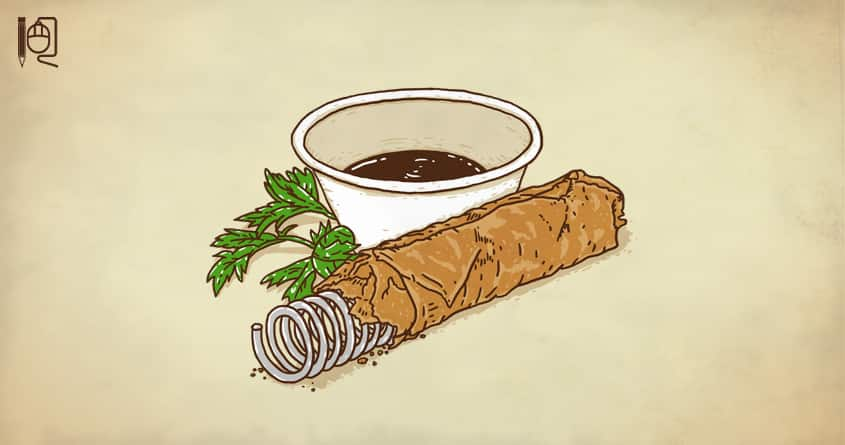 Spring roll by rodrigobhz on Threadless