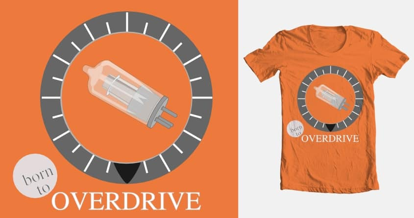 Overdrive by redstix on Threadless