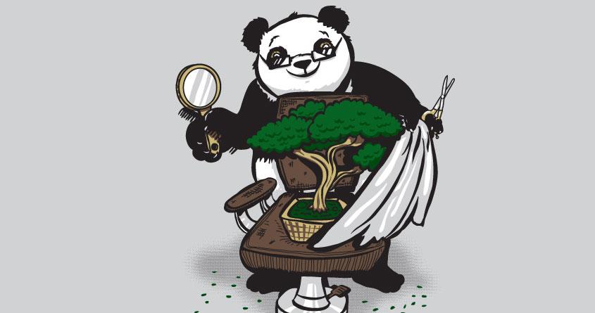 The Bonsai Barber by theawkwardyeti on Threadless