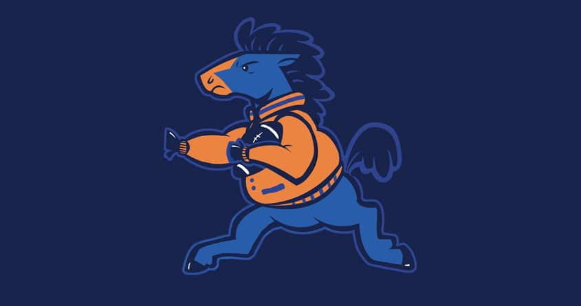 Boise Bronco  by sponzar on Threadless