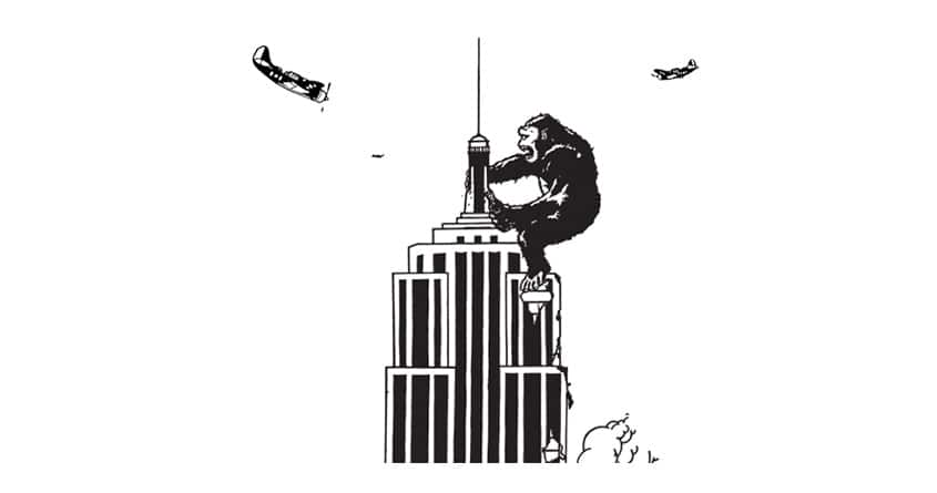 It's King Kong  by foldedanchors on Threadless
