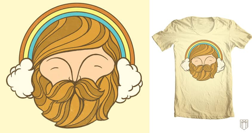 head in the clouds by Mike Marshall on Threadless