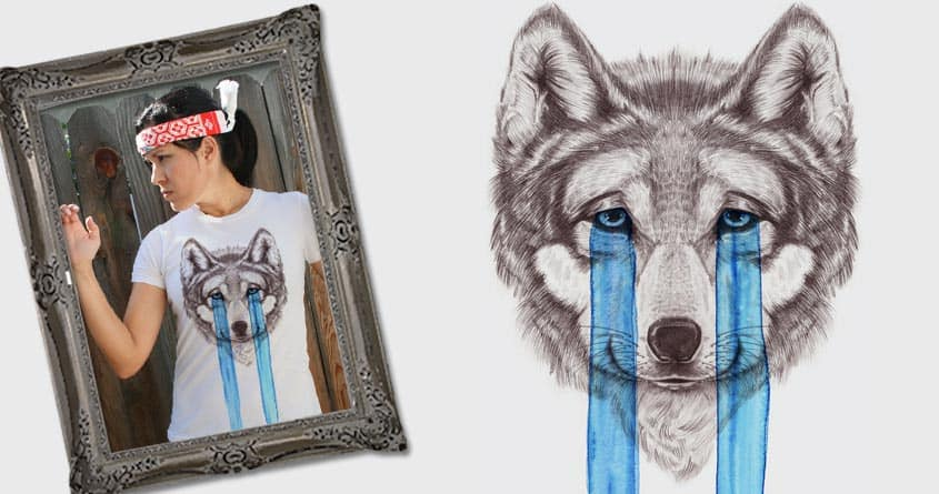 Don't Cry Wolf by Luke... on Threadless