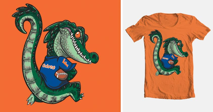 Gators rock! by XD! on Threadless