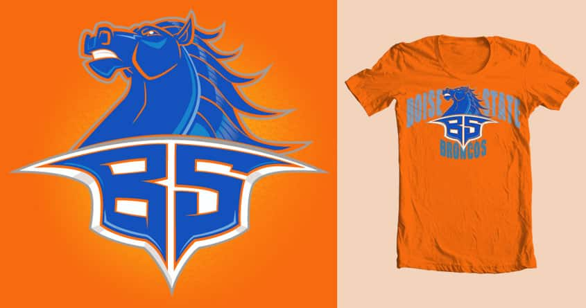 Bronco Nation by Figzy8 on Threadless