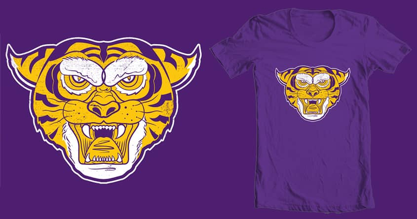 Fighter Tiger by WijanaTata on Threadless