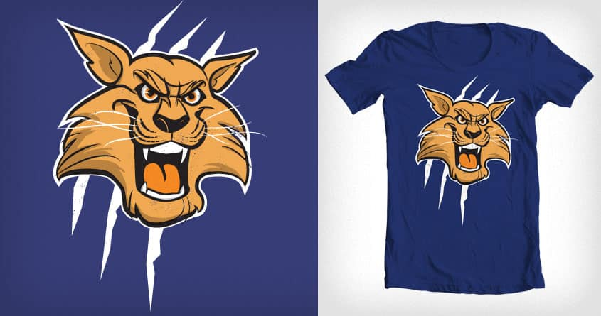 Wildcat Claws by sonofeastwood on Threadless
