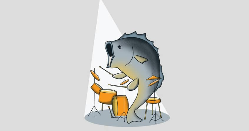 Drum and Bass by bandy on Threadless