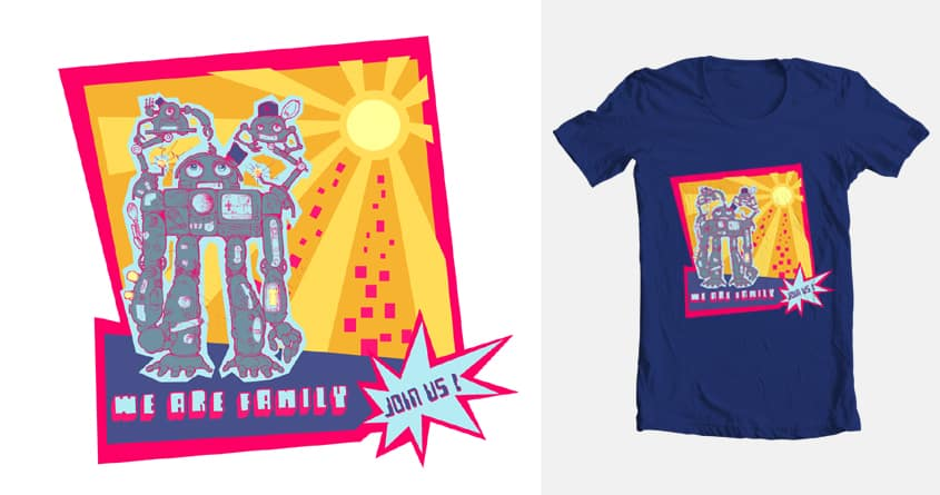 WE ARE FAMILY by Kalesty on Threadless