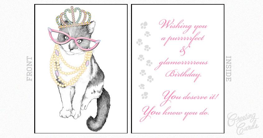 Purrrrrfect Ms.Kittie Birthday by MMStormie on Threadless
