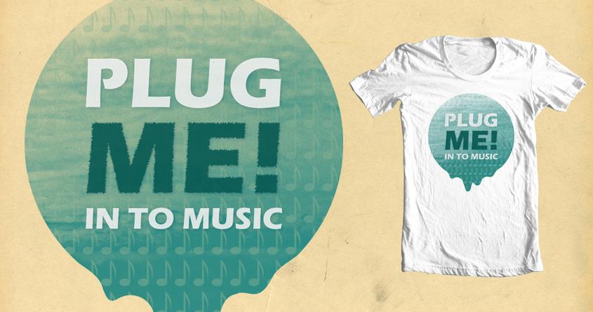 PLUG ME! by JOKUM on Threadless
