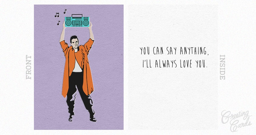 Say Anything by Kellabell9 on Threadless