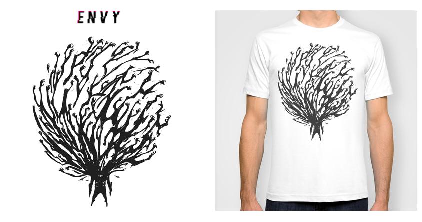 Envy by moulin bleu on Threadless