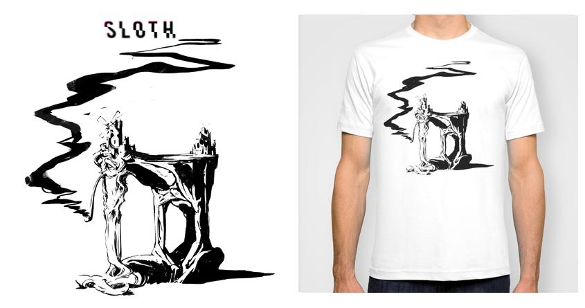 Sloth by moulin bleu on Threadless