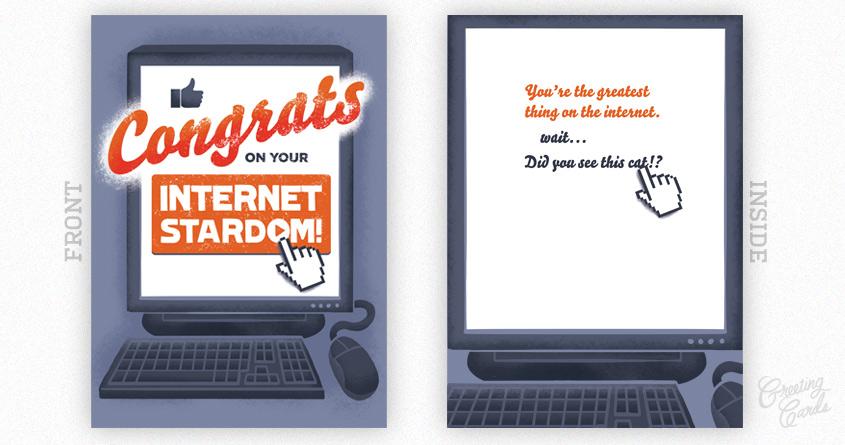 Congrats on your Internet Stardom by WanderingBert on Threadless
