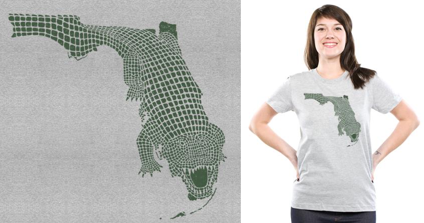 Florida Gator by jpmcdade92 on Threadless