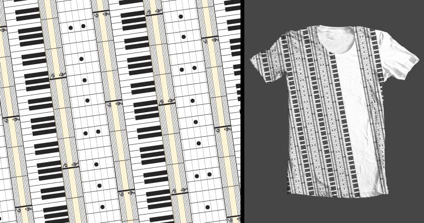 Musical Stripes by galehaut on Threadless