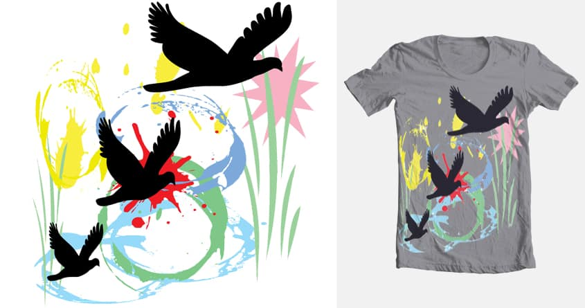 Birds of Paradise by paoloapolox.jurado on Threadless