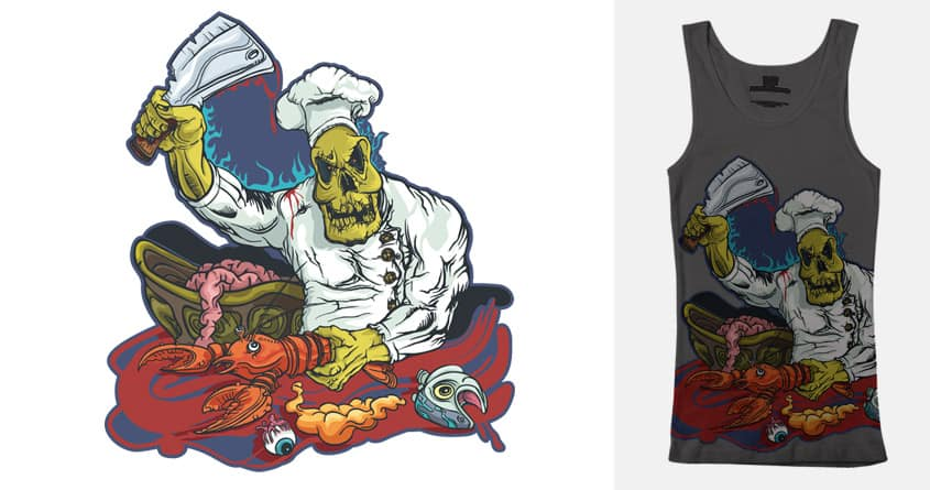 Monster chef by milosmilos on Threadless