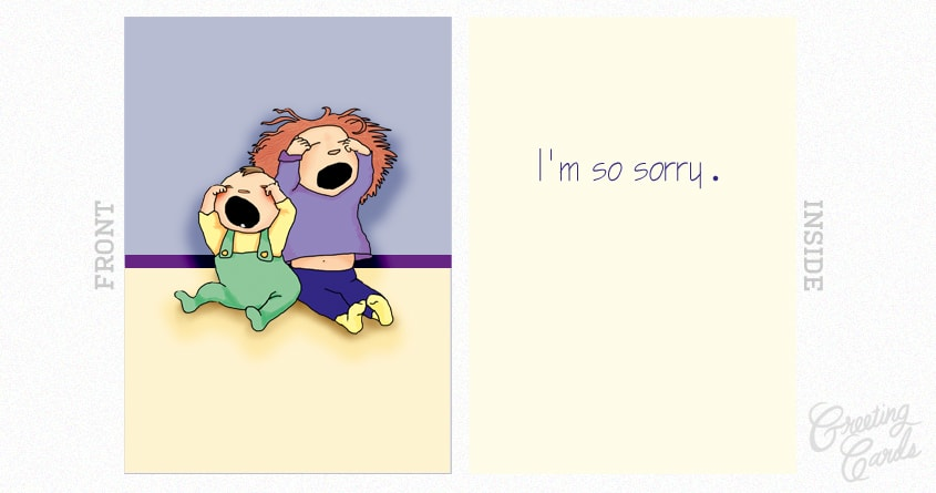 So Sorry by rosekristine on Threadless