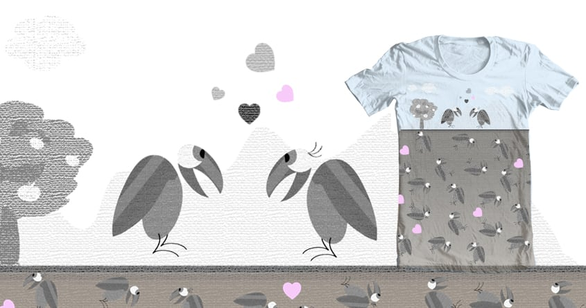 birdy bird.  by SiBi_ha on Threadless