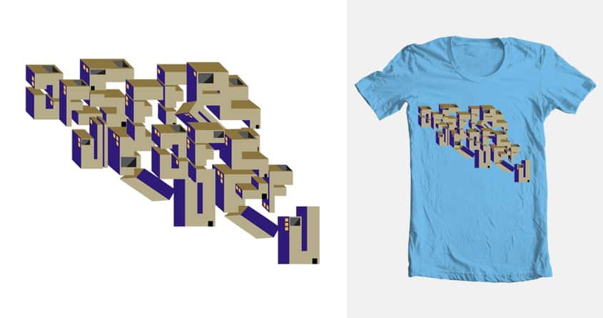 Imaginary City by Focusay on Threadless